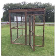 6FT x 6FT Run 16G Waterproof Outdoor Animal Pen
