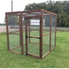 6FT x 6FT Run 16G Fox / Dog Proof Run Cat Safe Pen