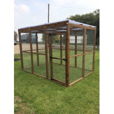 6FT x 9FT Run 16G Clear Waterproof Outdoor Animal Pen