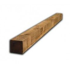 Square Wooden Posts - 1.5 x 100x100mm -  4 pack