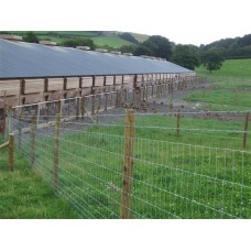 50mts Light High Tensile Poultry Fencing 158cm wide - 14G wire