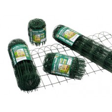 garden border 900mm High 10mt green PVC coated
