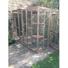 3 Sided Catio / Cat Lean to Play Pen 9ft long, 6ft wide