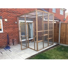 """Large Catio """"Cat Patio"""" Enclosure 9FT Tall 8FT Wide 8FT Long"""